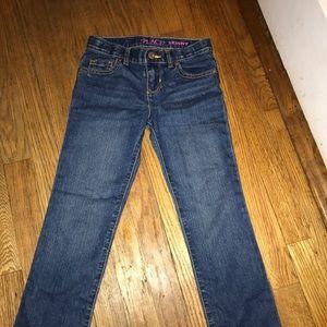 Brand new - girls skinny jeans - size 6x/7